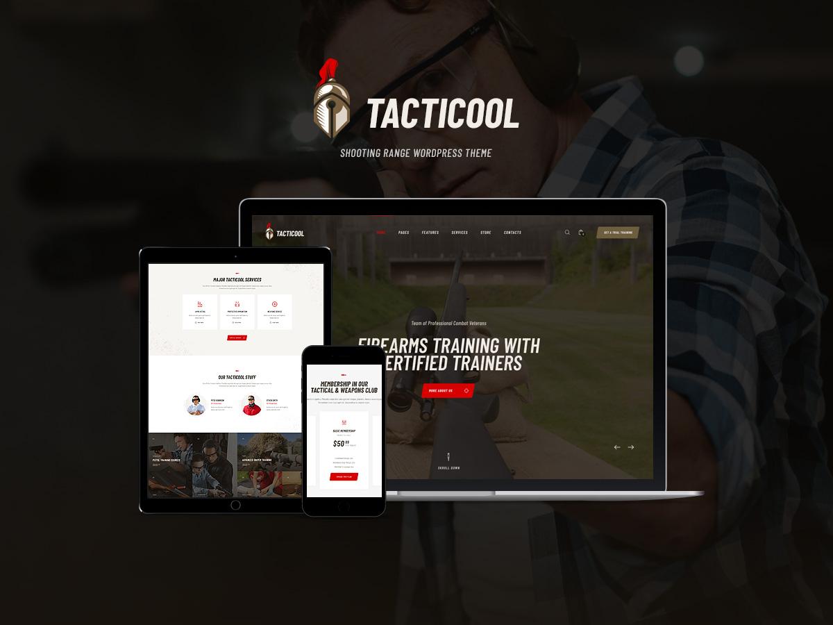 Tacticool   Shooting Range & Gun Store WordPress Theme woocommerce webdesign web development web design wordpress wordpress themes wordpress theme