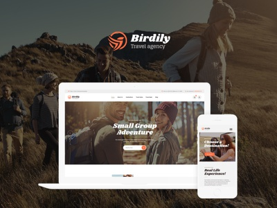Birdily | Travel Agency & Tour Booking WordPress Theme blog wordpress design wordpress blog woocommerce webdesign web development web design wordpress themes wordpress wordpress theme