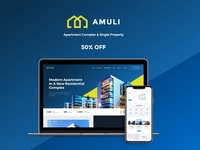 Amuli | Single & Multiple Property Real Estate WordPress Theme