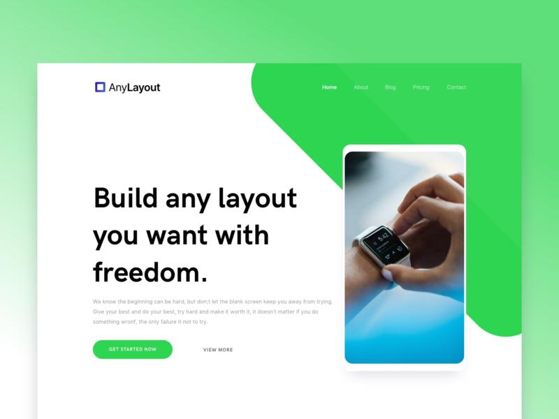 Layout Concept website concept design sketch ui designer website layout concept ui design