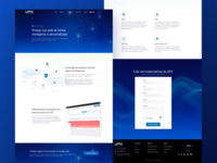 Layout UPX Product Page