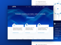 Layout UPX Home Page