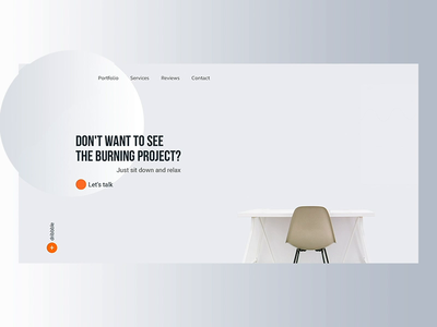 site gradient cards motion concept interaction inspiration web design minimal ux animation ui