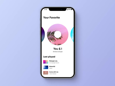 Music player app podcast music streaming ui playlist music player music app ios prototype prototyping uxdesign mobileapp design inspiration protopie