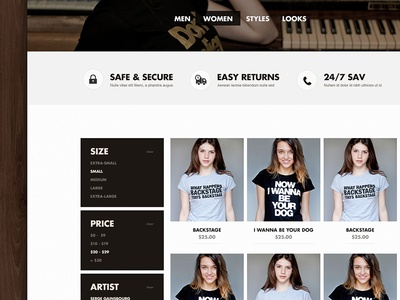 Original Music Shirt - Products | Redesign