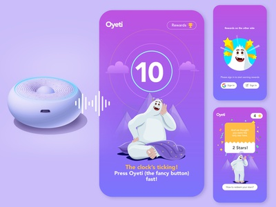 Oyeti Web App UI with Illustrations- 01 visual design uidesign ui design illustration