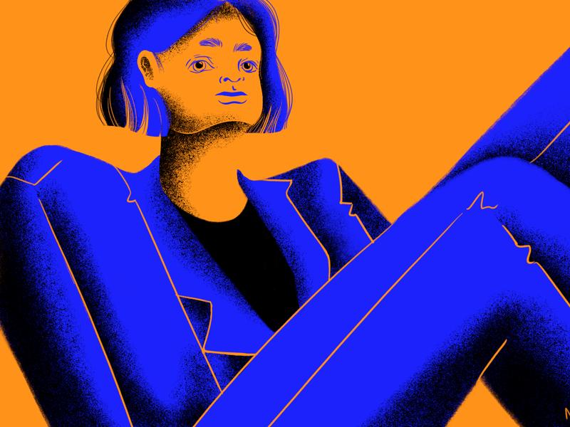 Suit business woman design woman artwork woman illustration digital art photoshop illustration