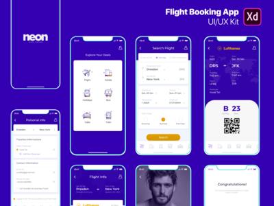 Flight Booking App - UI/UX Kit