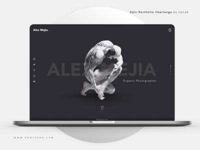 Epic Portfolio for Photographer - UI/UX Kit