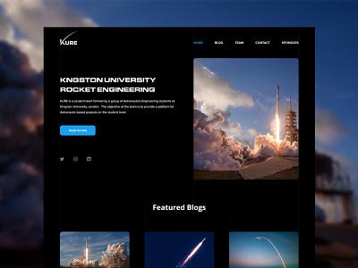 KURE Website Concept design flat minimal graphic design uiux ui design ui