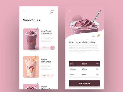 Smoothie App Exploration