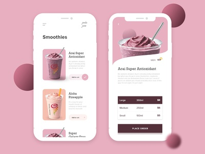 Smoothie Ordering App