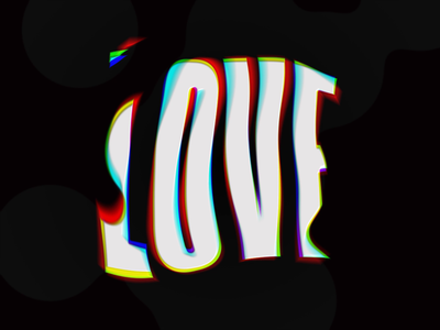 All you need is... bubbles waves after effects typography