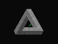 An impossible triangle