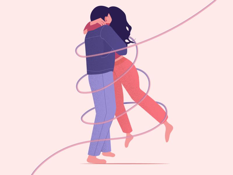 Desire love adobe illustrator clean design hugs couple characterdesign illustrator flatdesign flatillustration 2d illustration ux ui minimal illustration illustration