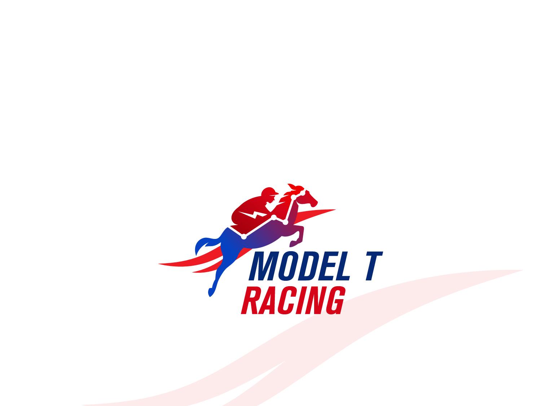 Model t racing logo vector logo illustration icon graphic design design branding brandidentity