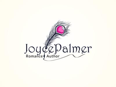 Joyce Palmer-Romance Author Logo Design