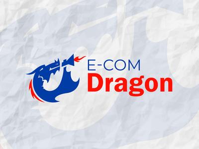 E-com Dragon Logo