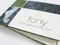 Foot Care of New York Brochure