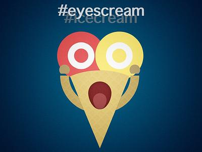 #eyescream #icecream ice cream drawing vector