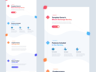 Crypto Exchange Thread Design (2018) branding uidesign minecraft forums crypto thread design web design ux design modern inspiration colorful mockup