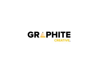 Graphite Creative Logo (Original Draft) logo creative pencil logo design logomark logotype modern web design ui design branding colorful mockup inspiration