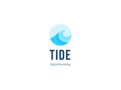 Tide Logo Design colorful design marketing ocean water creative tide logo design web design ui design nature modern mockup logotype logomark logo inspiration design construction colorful branding