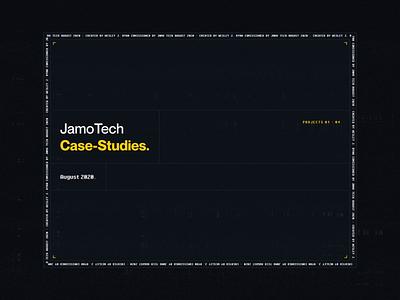 JamoTech Miniature Case-Studies grunge art minecraft case-study creative control panel branding ux design dark web design ui design modern inspiration mockup colorful