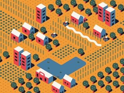 Isometric Farm