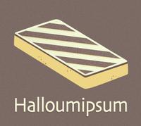 Halloumipsum