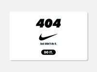 404 Nike Page