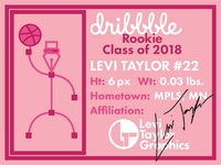 Dribbble Rookie Card