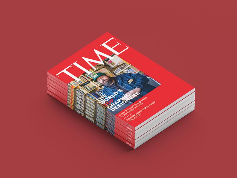 Time Magazine Redesign design adobe graphic design time magazine design magazine cover print design