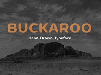 Buckaroo - Southwest Inspired Typeface cactus buckaroo font typeface handdrawn heat hot southwest california mexico desert