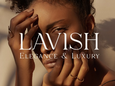 Lavish - Luxury Typeface timeless contemporary minimal wedding chic fashion beautiful typeface serif elegant luxury