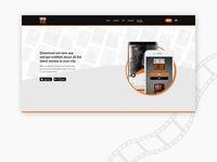 Cinema Deluxe APP page concept