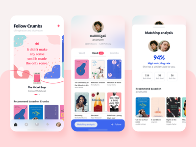 Social book experience app
