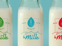 leMilk Bottles