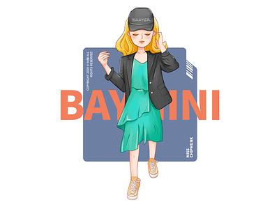 Miss 2 comic cartoon character character design girl design illustration
