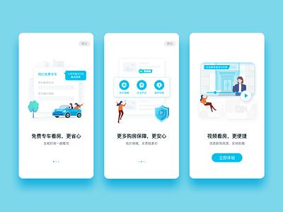Onboarding design vector app ui onboarding illustration design