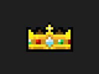 Pixel Art Crown
