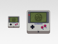 Pixel Art Gameboy