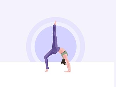 yoga branding vector illustration design