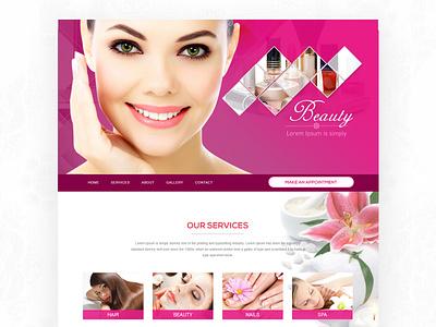Web Layout Beauty web design