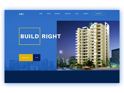 Web Layout Build design web