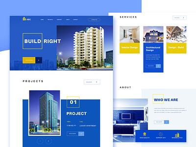 Web Layout Build web design