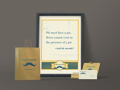 Mustachio Branding donuts graphic design mustache poster logo branding coffee