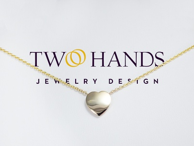 Two Hands Jewelry Design - Logo Cover branding logo graphic design cover design jewelry two hands two hands jewelry design