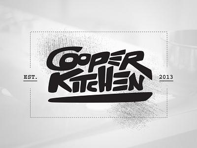 Cooper Kitchen graphic design design logo branding cooking baking kitchen cooper kitchen