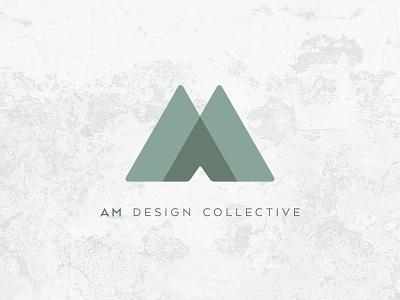 Am Design Collective Logo monogram designstudio branding design branding logo
